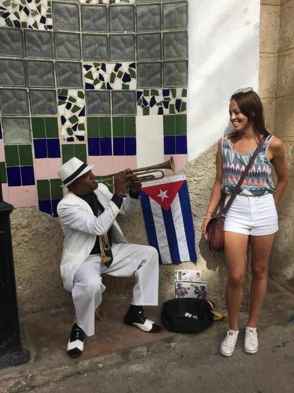 Cuba culture and music. It's like stepping back in time.