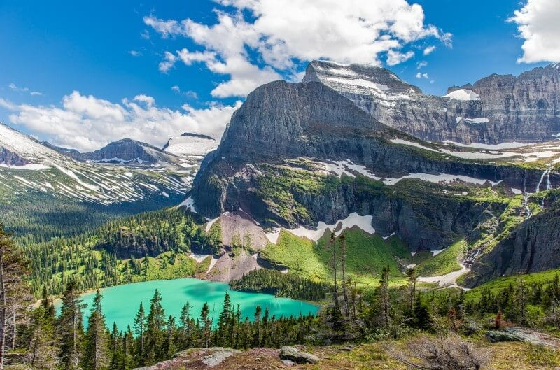 Grinnell Lake Glacier National PArk Montana (800 x 529)
