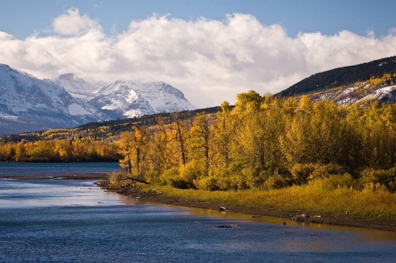 Montana fall hiking and wildlife viewing