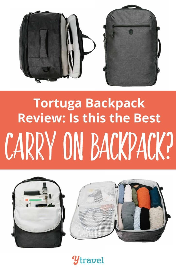 Is this the best carry on backpack? I review the Tortuga Setout Backpack which is the maximum size for carry on luggage only. I loved the comfort, support and space of this bag. It also looks pretty sleek!