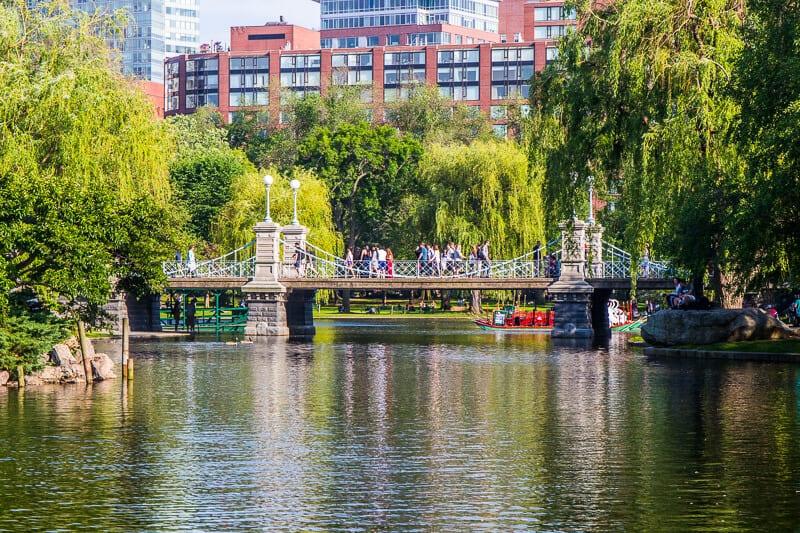 Jardins publics de Boston