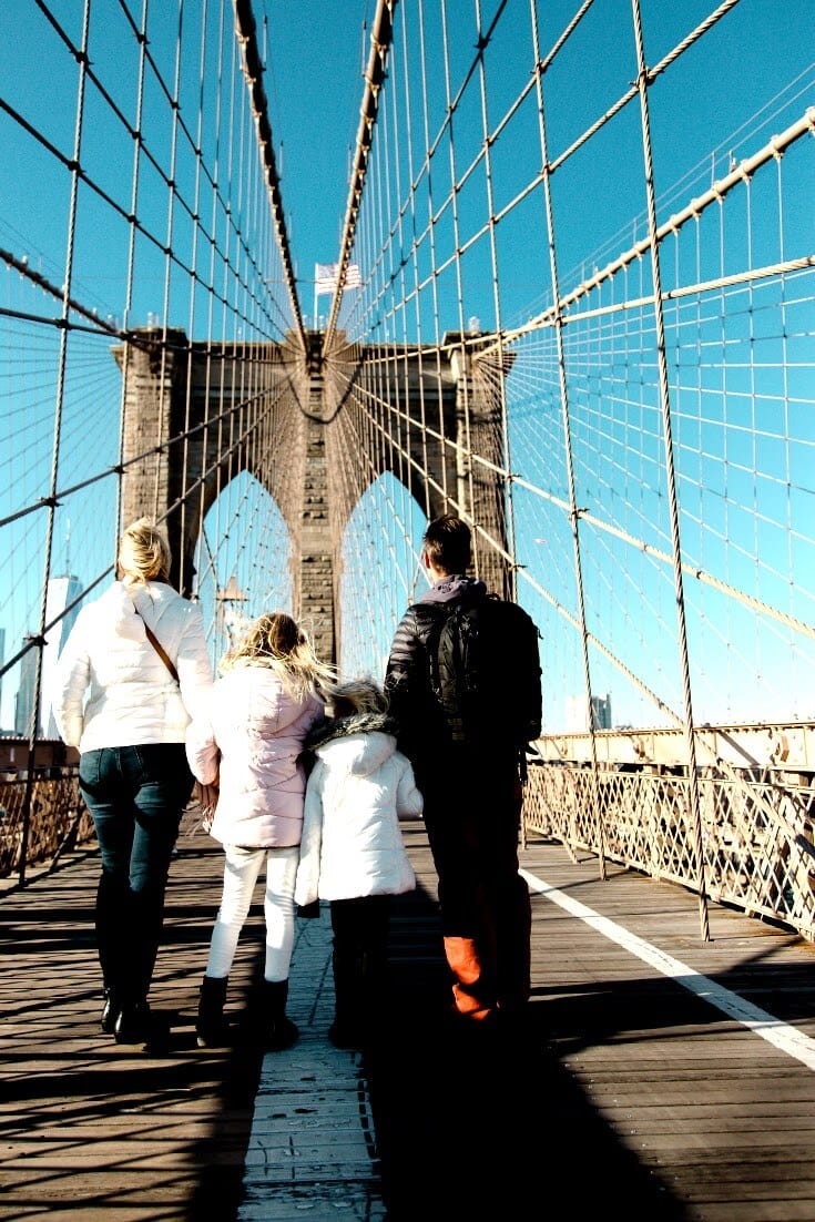 NYC Travel Tips - Here is a 3 day itinerary for New York City. So many great things to do in NYC like walk across the Brooklyn Bridge. Click inside for a 3 day NYC itinerary.