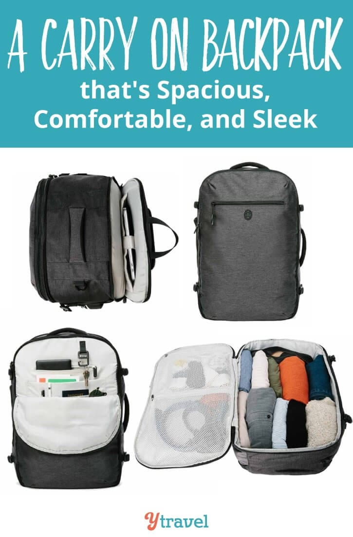 Are you looking for a carry on backpack that is comfortable, supportive and sleek? The Tortuga Setout Backpack is just that. I loved the style of it and it has now become my go to luggage for city travel and short trips. REad my Tortuga review now