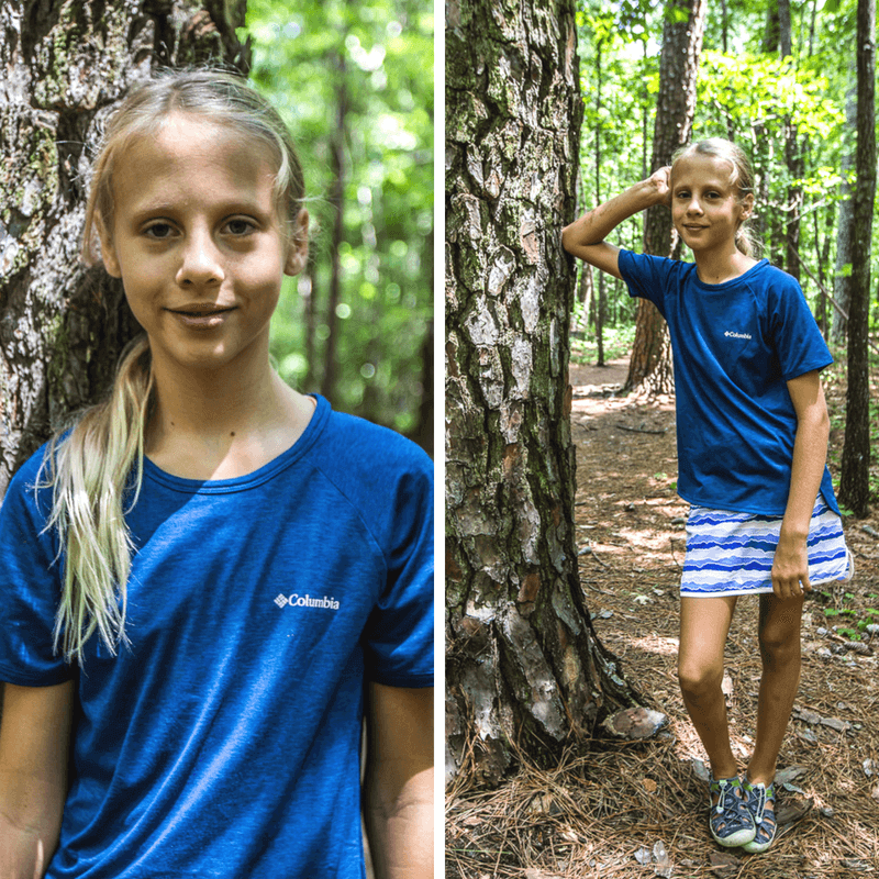 Columbia gear for hiking with kids - click through to see more Columbia apparel and tips for what to wear for travel and leisure!