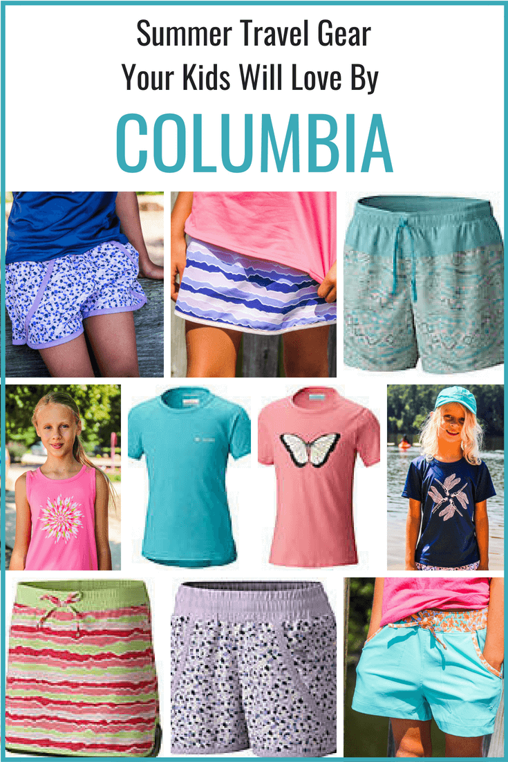 Columbia clothes for travel and leisure - Learn how to stay cool and protected with Columbia Sportswear. Click through to see more Columbia gear and tips for what to wear for travel and leisure!
