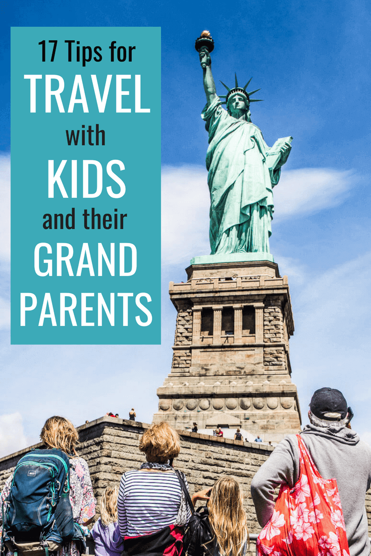 17 Family Vacation Tips for Multi-generational travel - Have you traveled with the kids and grandparents? Or are you nervously thinking of it? Our tips for group travel will help you avoid the nightmares and create amazing memories. Click to read now.
