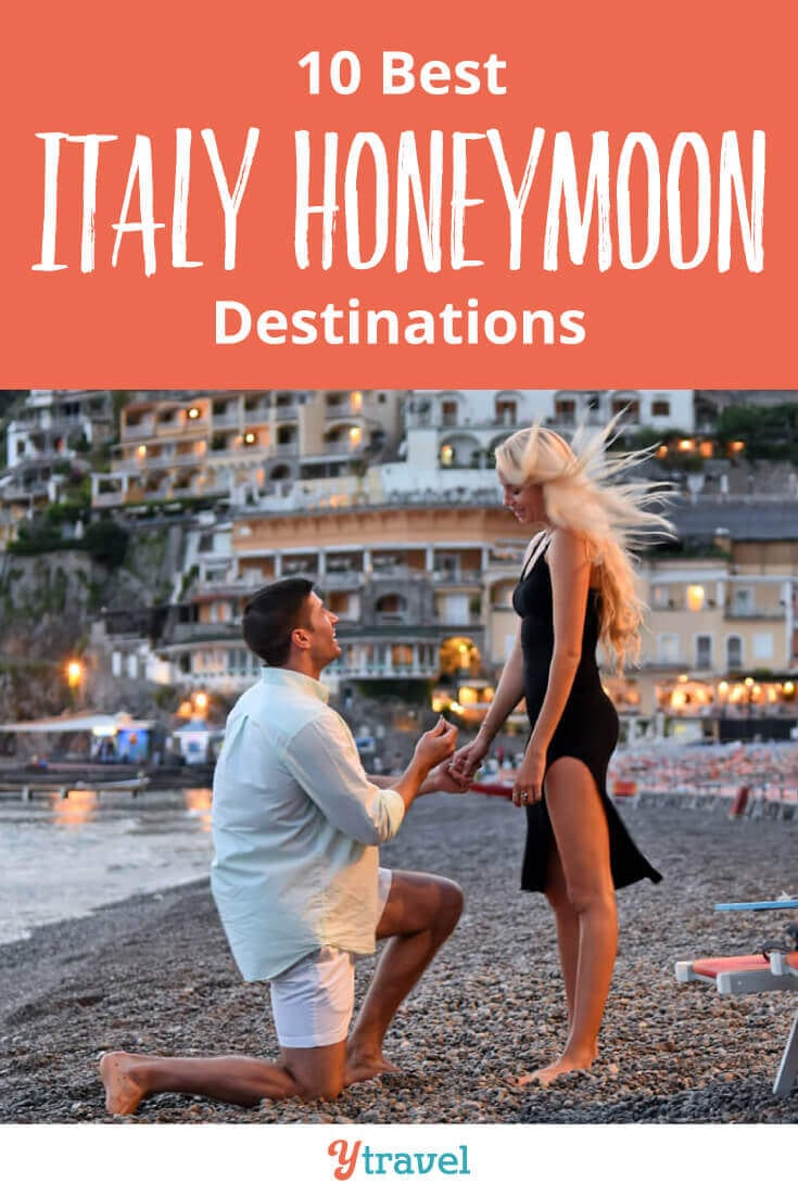 Italy Honeymoon Itinerary Tips - these 10 Italy vacation spots are a fabulous choice for an unforgettable time. Dreaming of a Europe honeymoon? Click inside now!