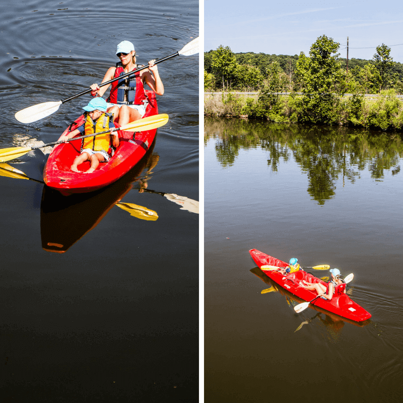 Kayaking with Columbia Sportswear - click through to see more Columbia apparel and tips for what to wear for travel and leisure!
