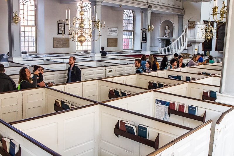 Old North Church, North End