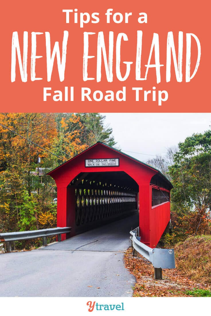 New England Road Trip - 7 tips for doing a fall road trip through New England to see the beautiful fall colors. Start planning your New England vacation now!
