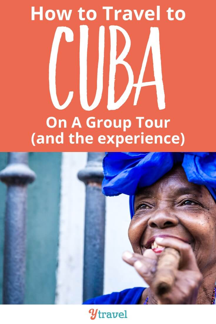 Should you travel to cuba on a group tour? Even the independent traveler would love the experience of a group trip to Cuba! This post shares the experience of group travel in Cuba with a few extra tips to help you decide the best Cuban experience for you