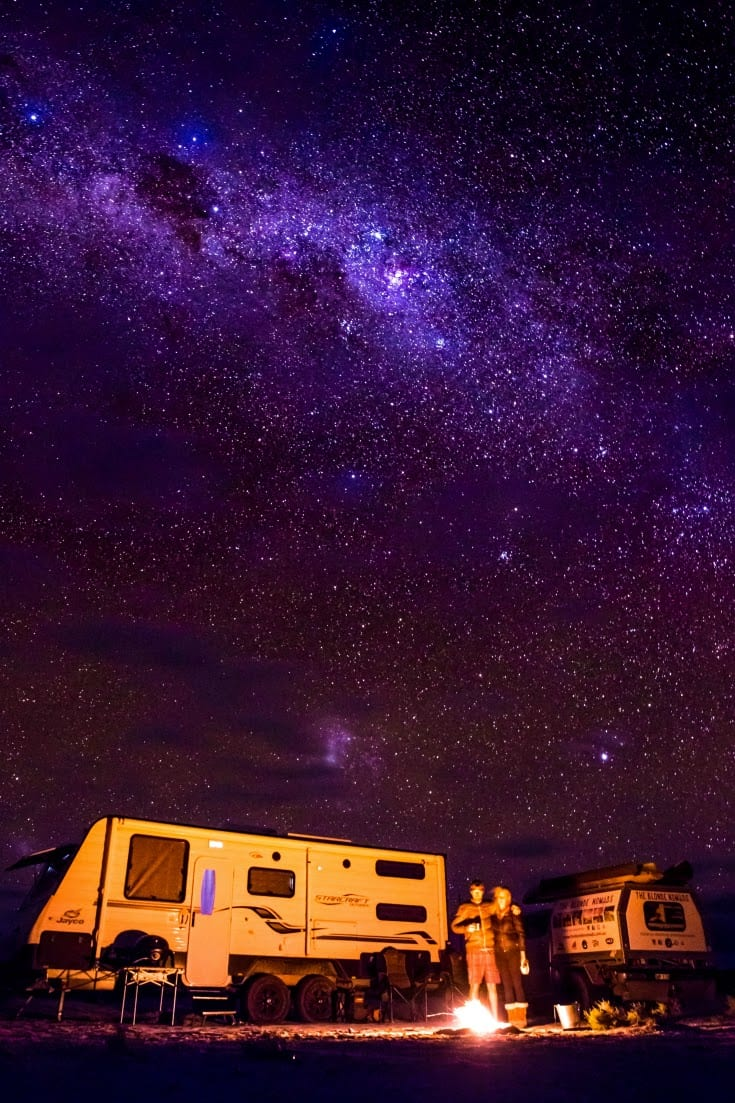 Travelling around Australia tips - how to do it in a caravan (travel trailer)