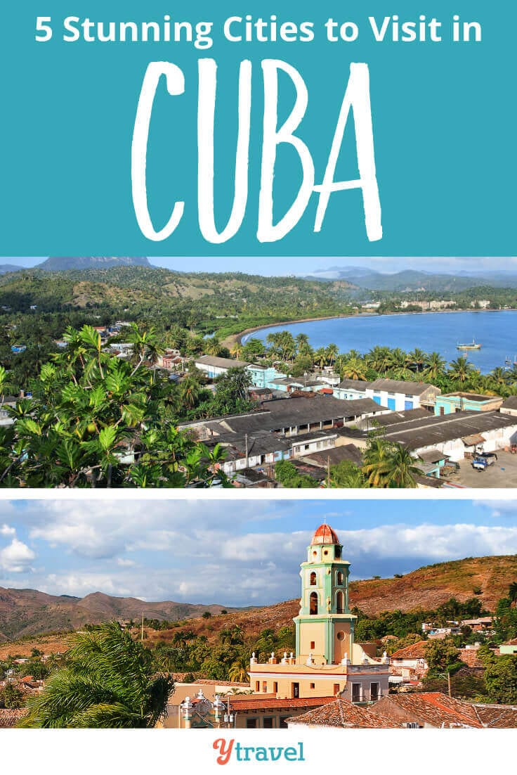 Cuba Travel Tips - if you are planning a trip to Cuba, here are 5 amazing places to visit in Cuba that will imprint your heart. Click inside now!