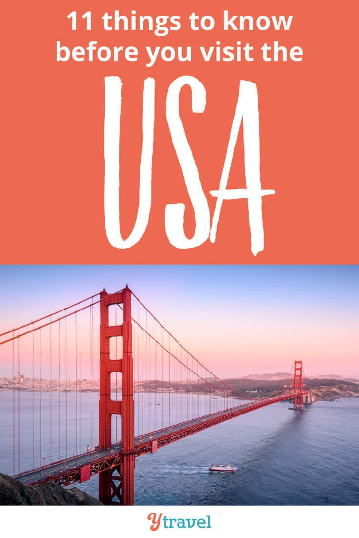 USA Travel Tips - 11 things to know before you visit the USA. Click inside for tips on visas, flights, accommodation, getting around and much more!