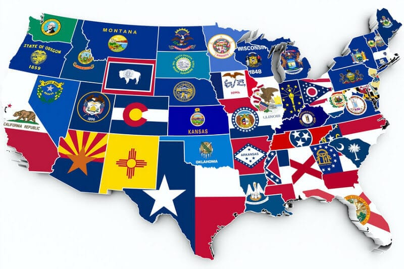 Visit the USA map