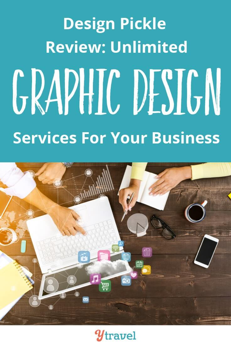 Looking for Graphic Design Help - How does unlimited graphic design for your business sound! It saves me oodles of time and money on design for things like media kits, ads, product covers, pin images and more. Click to read my Design Pickle Review.