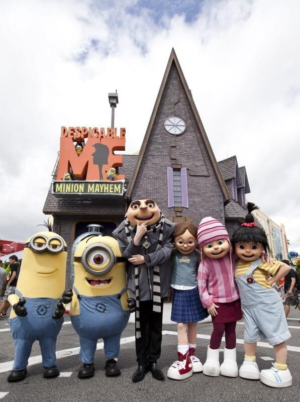 Despicable Me Minion Mayhem Universal Studios Orlando