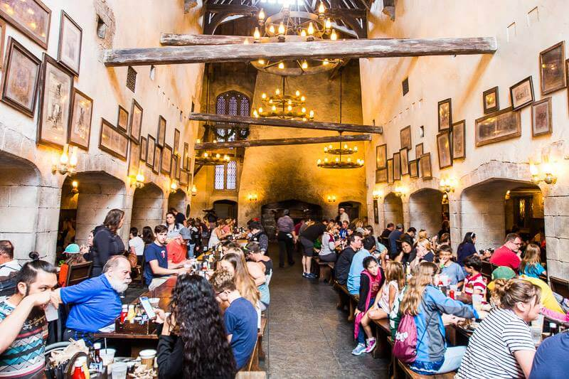 The Leaky Cauldron Universal Studios Orlando