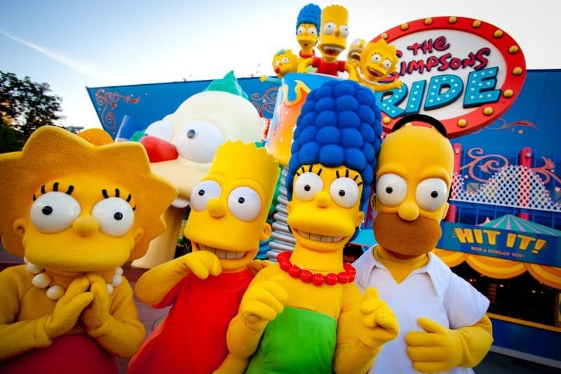 The Simpsons Universal Studios Orlando
