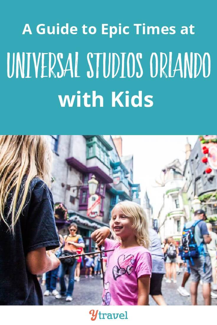 Universal Studios Orlando with kids. Wands at the ready. IT's time for a little bit of magic at the Wizarding World of Harry Potter. Diagon Alley is a blast as is the other lands in this Universal Orlando Resort theme park. Click to read now