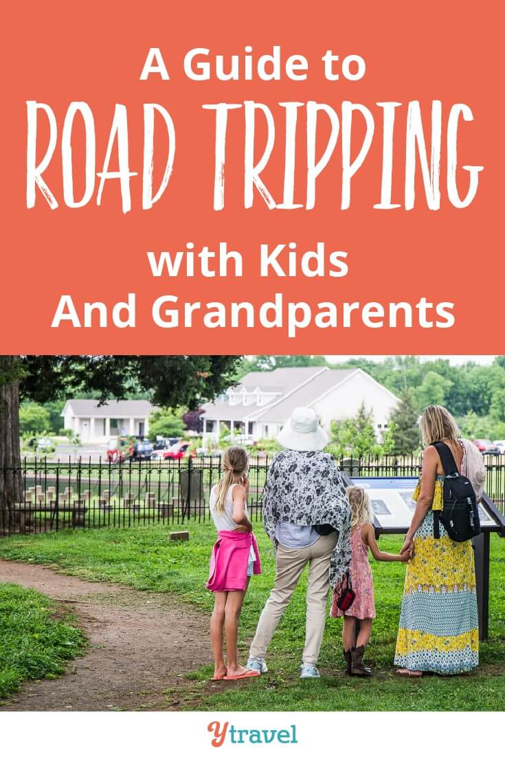 Guide to road trips with kids and grandparents. It's a wonderful experience and here is how you can survive multigenerational family vacation.