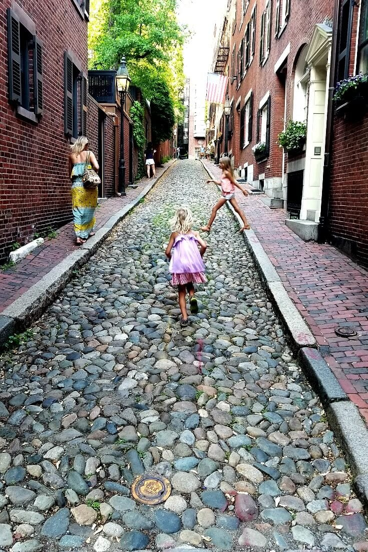 BEacon Hill - one of the best places to visit in Boston