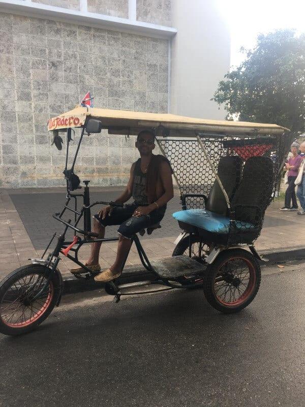 bike taxis cuba