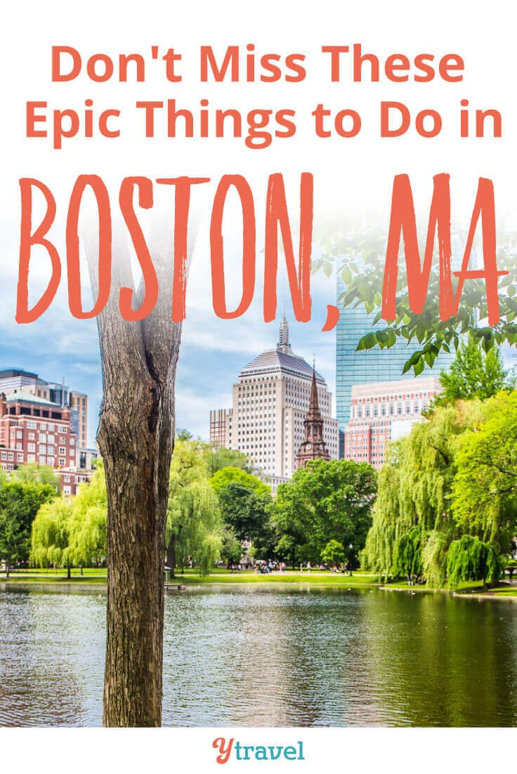 17 things to do in Boston - click inside for Boston travel tips including all the best attractions, plus where to eat and stay!
