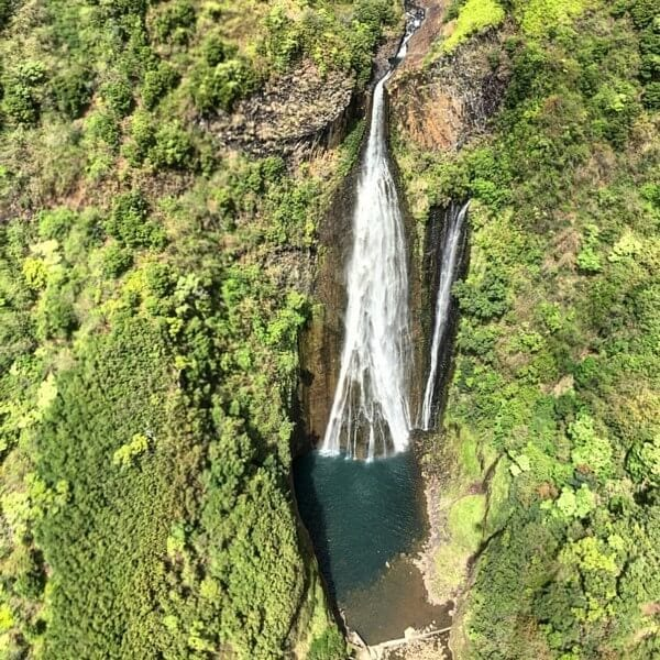 Waterfall in Kauai, Hawaii