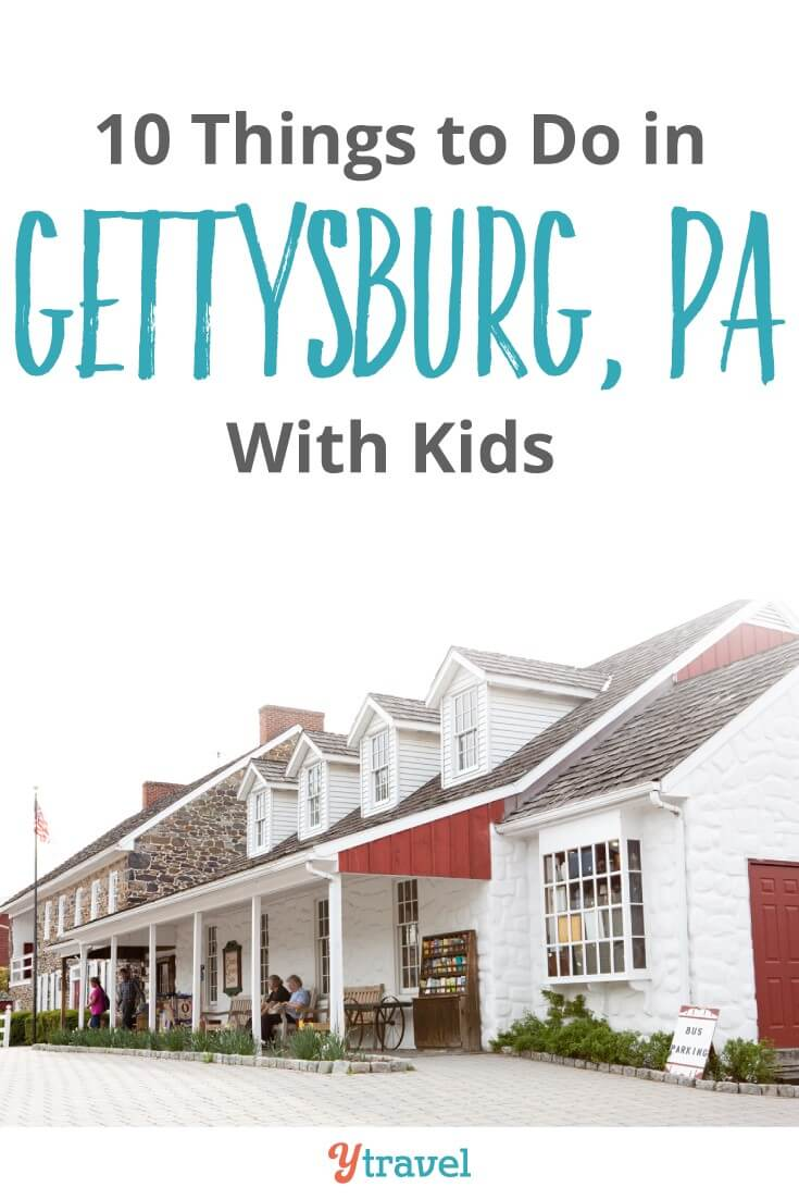 Things to do in Gettysburg PA with kids. There is so much that can inspire and educate in this region. Not just Civil War History and the Battle of Gettysburg, but good food and craft beer. Click to read more!