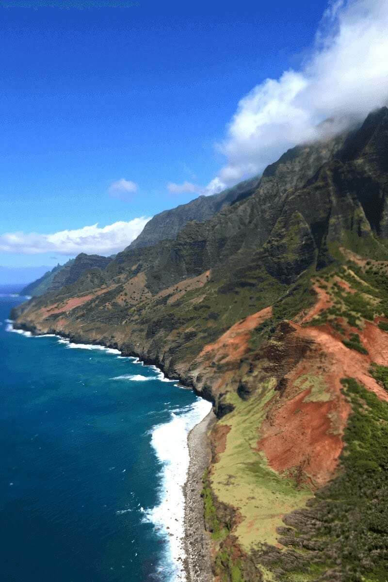 The Napali Coast. One of the best things to do in Kauai, Hawaii
