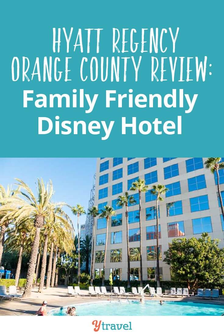 Want a family friendly Disney Hotel? The Hyatt Regency Orange County may give you what you need: spacious suites, swimming pools, and smores around the campfire. Click to read more