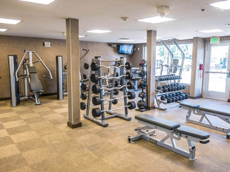 Hyatt Regency Anaheim gym