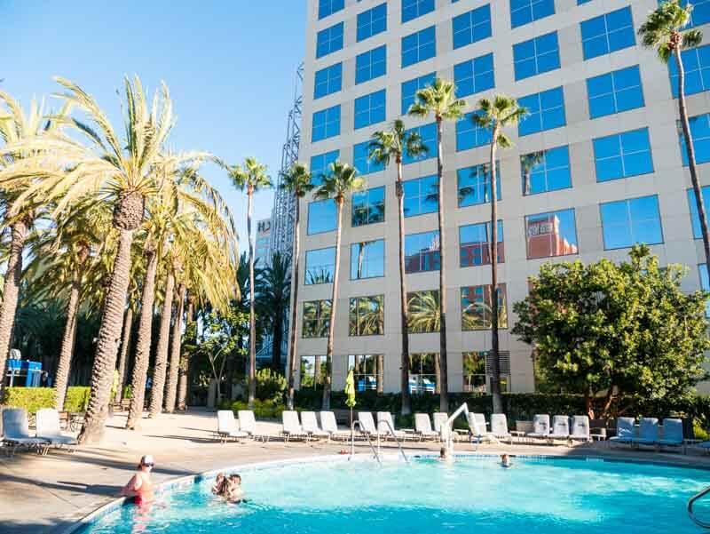 Hyatt Regency-Orange County swimming pool