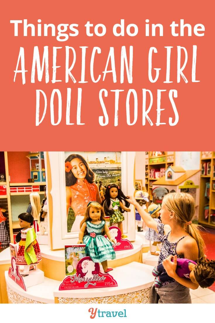 How to visit an American Girl Doll Store with kids! AG dolls are a thing my girls have embraced in the USA. We have visited three stores so far and Kalyra has written a guide to help you do the same! From hair salons to cafes, American Girl Place has everything