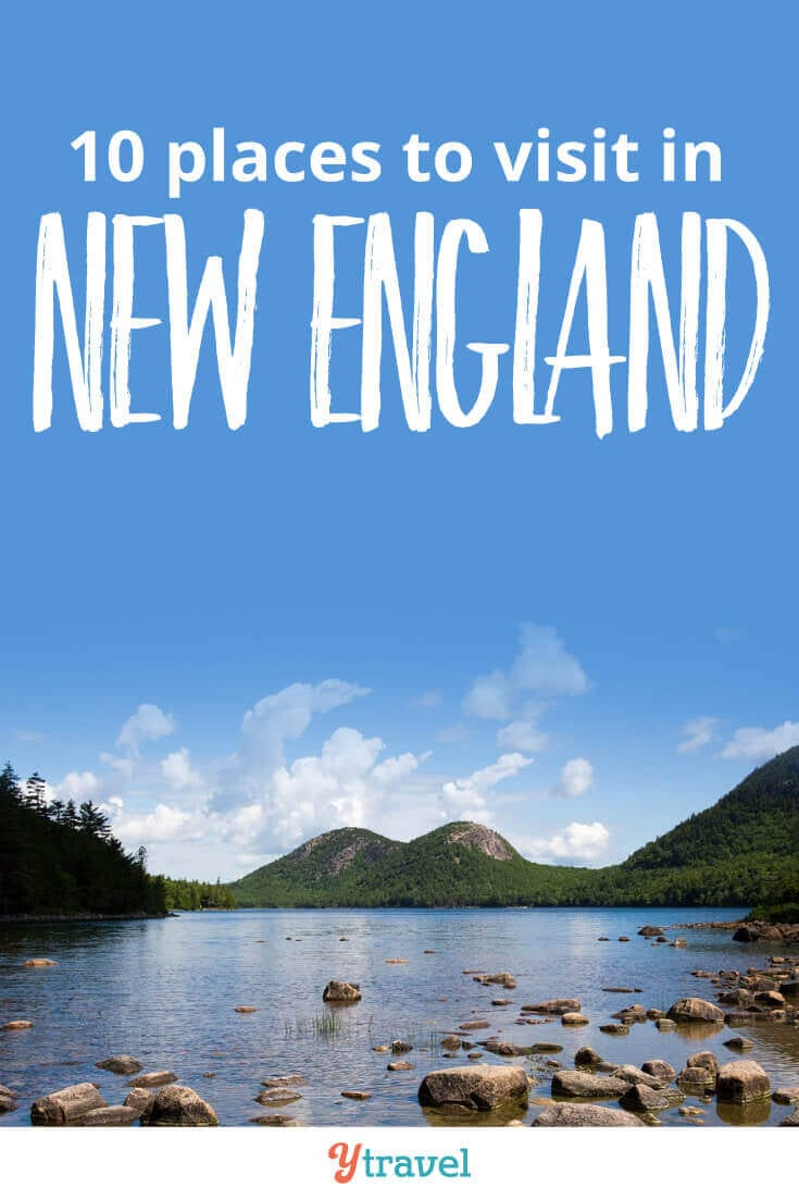 10 places to visit in New England for your New England road trip. Click inside for tips on a New England road trip.