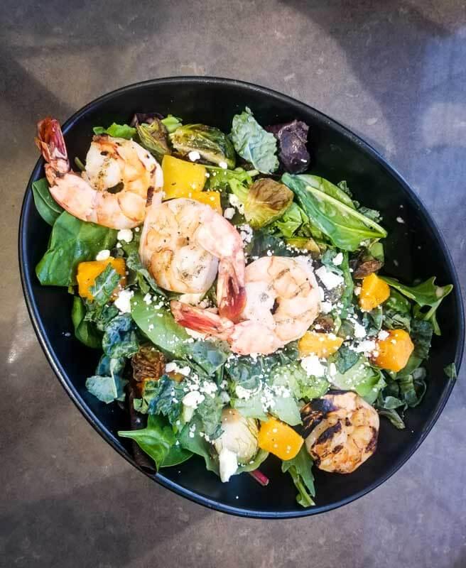 shrimp salad oc brewery