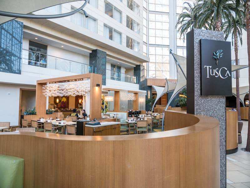 tusca restuarant hyatt regency orange county (2)