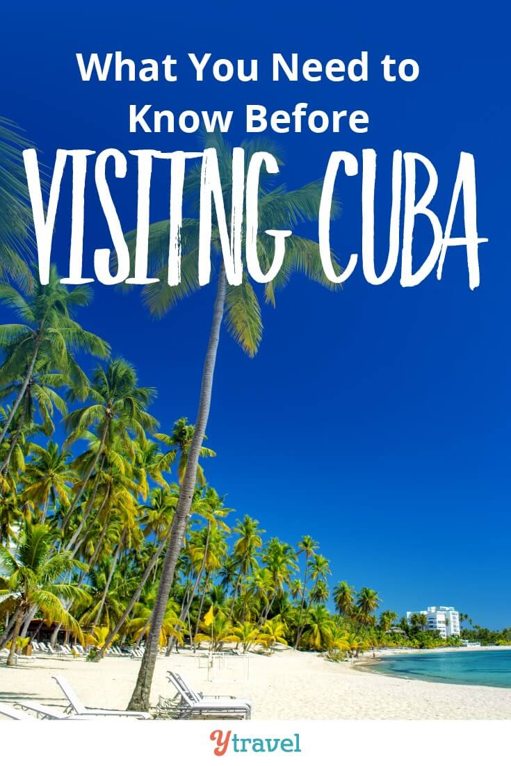 What to know before visiting Cuba. We take you through the pros and cons to travel in Cuba as well as some of the helpful travel logistics for your Cuban vacation. Click to read more.