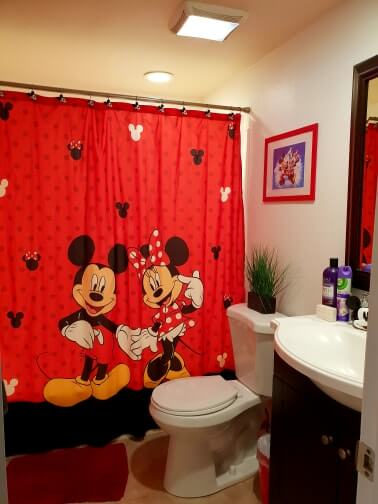 disney themed apartment rental