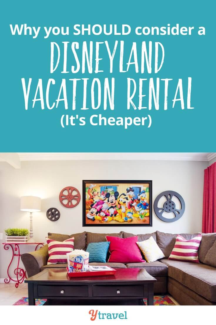 Why you should consider a Disneyland vacation rental. You can see the apartment we rented which was right near Downtown Disney - cheap, convenient perfect for large families and groups