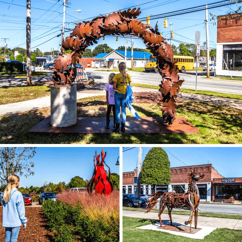Sculpture Trail, Clayton, NC