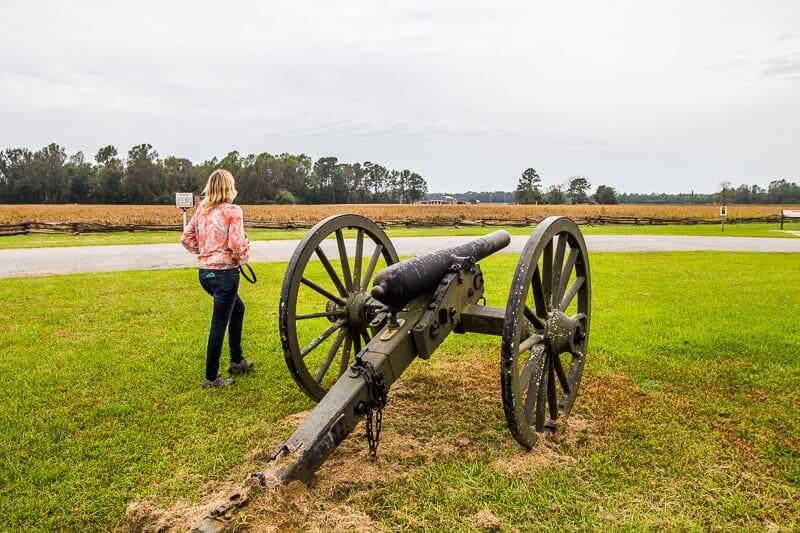 Bentonville Battlefield, North Carolina