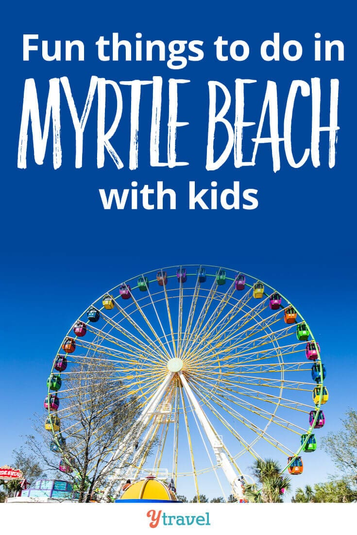 Best things to do in Myrtle Beach with kids. Click inside for tips on what to see and do, where to eat, and where to stay in Myrtle Beach, South Carolina!