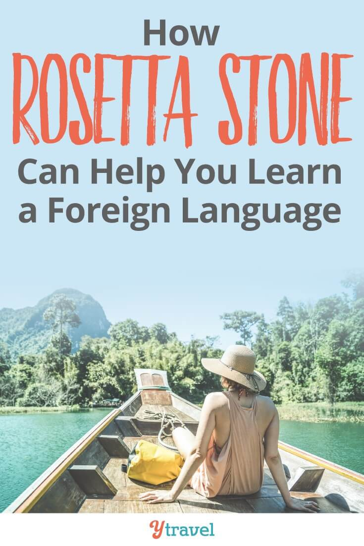 how rosetta stone can help you learn a foreign language. As a former teacher I can highly recommend Rosetta Stone as an online language learning program. It's a very effective form of teaching. Click to read more and share