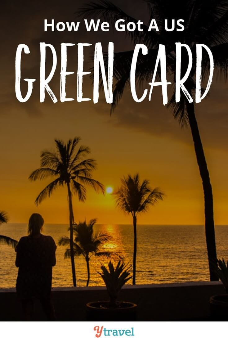 How to get a green card. It's not easy. But we found an extraordinary path through travel blogging to get it.