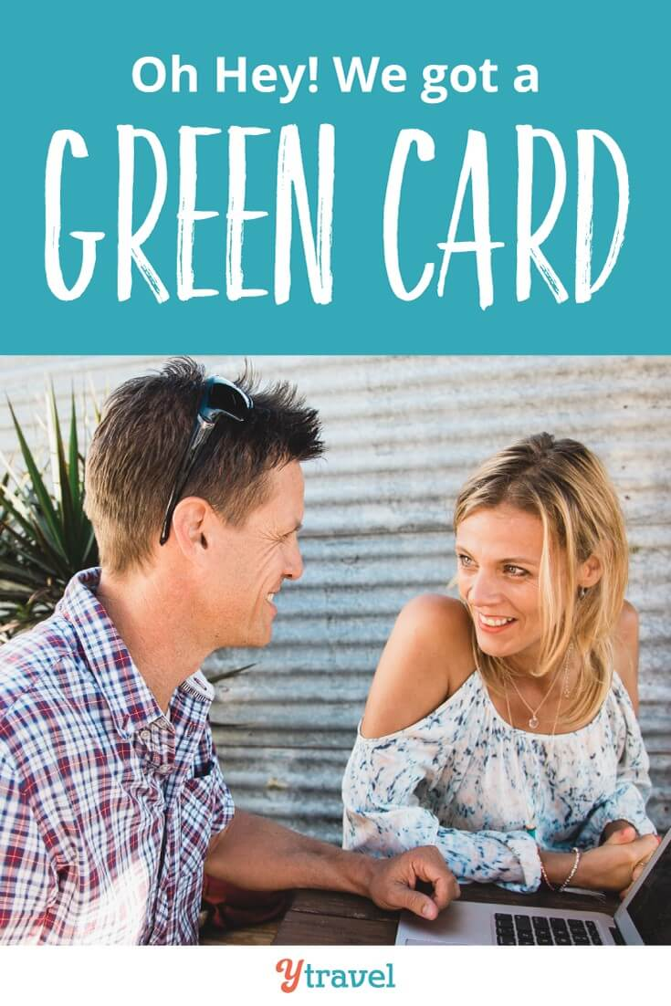 How to get a US green card. We somehow made the impossible possible through our travel blogging. It took us on an extraordinary journey for 14 years to get here.