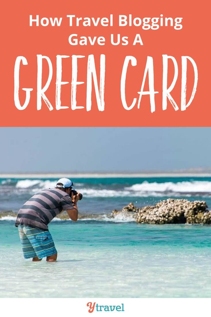 How travel blogging gave us a US Green Card. It's incredible to think that our travel blog passion gave us the ultime dream. The right to live in the US permanently.