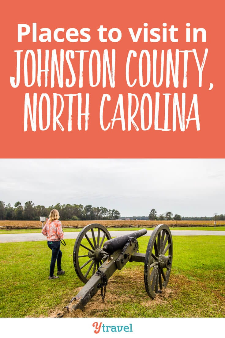 Planning a road trip to North Carolina? Johnston County in North Carolina is one of the biggest counties in NC, and the next county south of Raleigh. Here are 19 reasons to visit Johnston County when you visit North Carolina on your East Coast Road Trip.