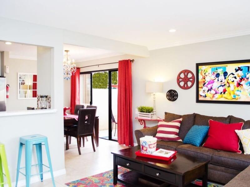 rent an apartment near disneyland